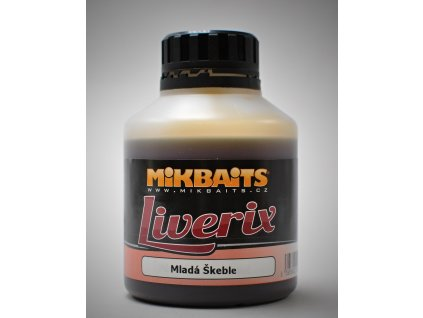 Mikbaits Booster Liverix 250ml - Vypasený šnek