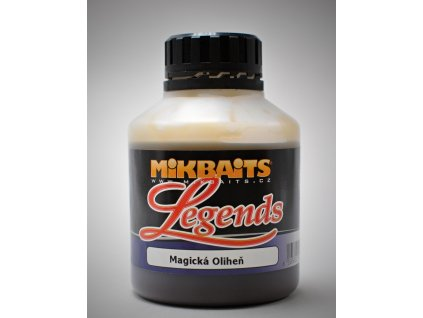 Mikbaits Booster Legends 250ml - BigB Broskev Black pepper