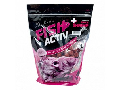 LK BAITS FISH ACTIV PLUS SPICE SHRIMP