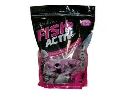 LK BAITS BOILIES FISH ACTIV PURPLE PLUM 1KG, 20MM