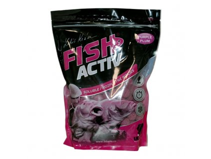 LK BAITS BOILIES FISH ACTIV PURPLE PLUM 1KG, 20MM