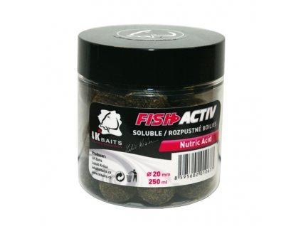 LK BAITS BOILIES FISH ACTIV NUTRIC ACID 250ML, 20MM