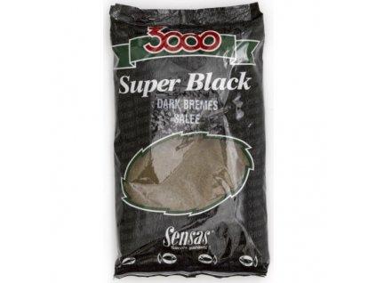 KRMÍTKOVÁ SMĚS SENSAS 3000 Dark Bremes Salee (cejn černý slaný) 1kg