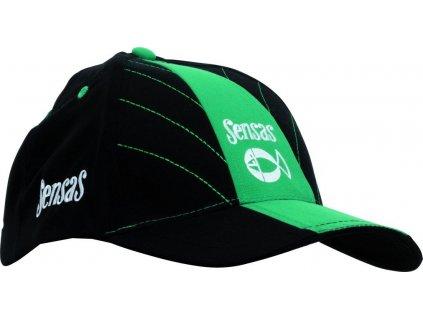 Kšiltovka SENSAS Microfibre zelená/černá