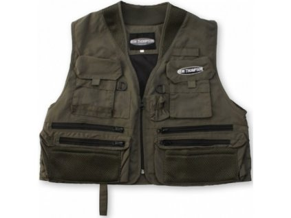 MUŠKAŘSKÁ VESTA RON THOMPSON ONTARIO FLY VEST DUSTY OLIVE
