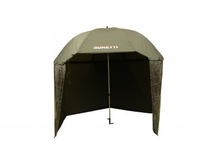 SURETTI Deštník s bočnicí PVC 2,5m