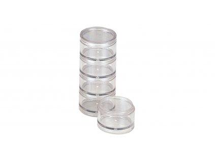 Round Case S - krabička šroubovací 5 páter