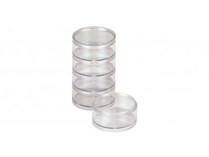 Round Case M - krabička šroubovací 5 páter