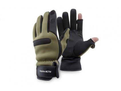 Neoprénové rukavice Delphin ACTIV vel.L