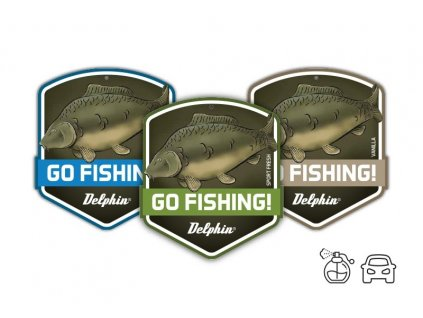 Vůně do auta Delphin GO FISHING! Carp Sport fresh