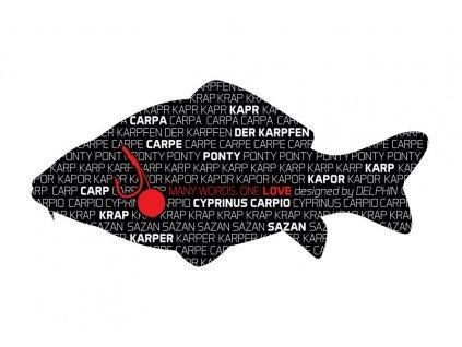 Delphin nálepka KAPR série Words