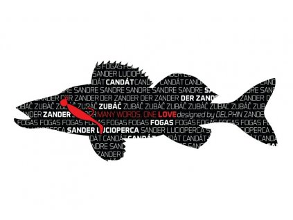 Delphin nálepka CANDÁT série Words