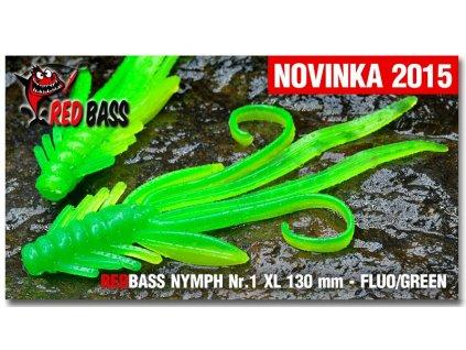 RedBass Nymfa - 130mm