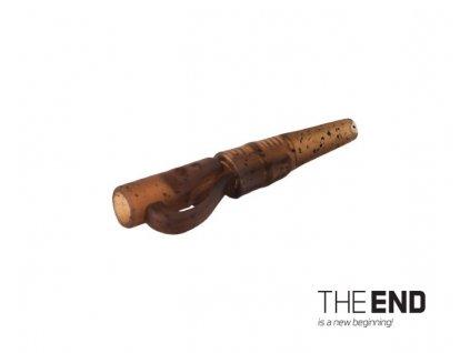 Delphin závěsný PIN klip s gumičkou THE END / 10ks G-ROUND