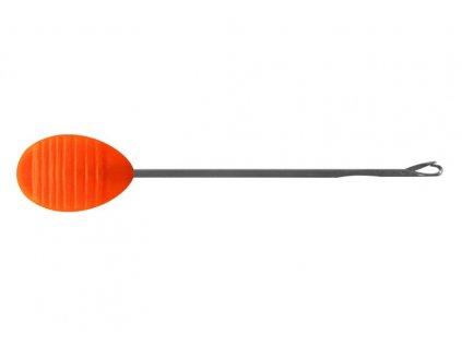 Delphin plastová boilie jehla oranžová 7cm