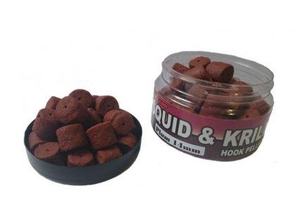 Squid & Krill Hook Pellets 14mm/120g
