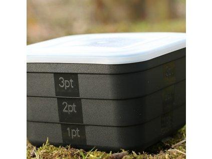 Krabička na červy Gardner Maggot / Bait Tubs - 2.5 pint: 80mm