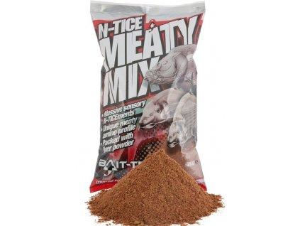Bait-Tech Krmítková směs N-tice Meaty Mix Groundbait 2kg