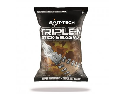 Bait-Tech Směs krmení Triple-N Stick & Bag Mix 1 kg