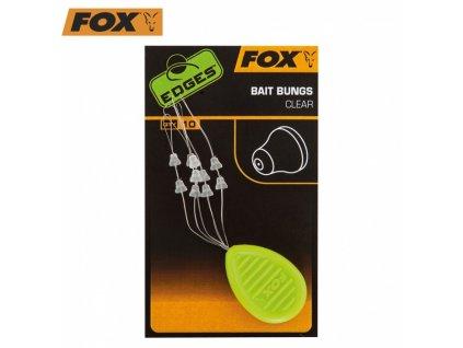 ZARÁŽKY FOX EDGES BAIT BUNGS CLEAR 10KS