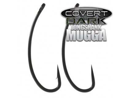 Háčky Gardner Covert Dark Longshank Mugga Barbed