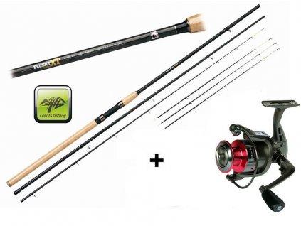 Giants Fishing Prut Fluent Feeder XT 12ft Medium + naviják zdarma!