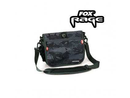 FOX RAGE VOYAGER CAMO MESSENGER BAG + 2X BOX