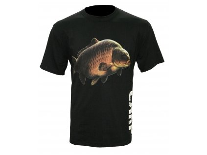 Zfish Tričko Carp T Shirt Black