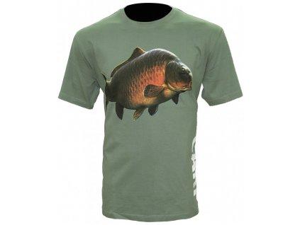 Zfish Tričko Carp T Shirt Olive Green new