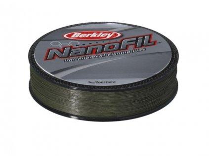 BERKLEY NANOFIL 125m - zelený