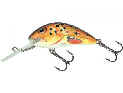 Brown Holographic Trout