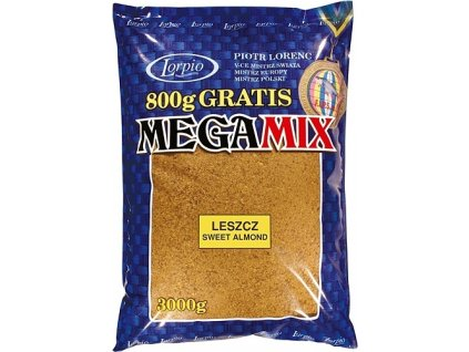 Krmítková směs Lorpio Megamix 1kg - Cejn (sweet almond)
