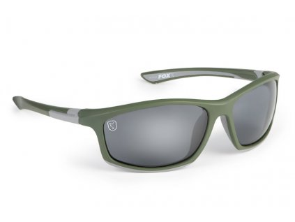 Brýle Fox Collection Sunglasses green