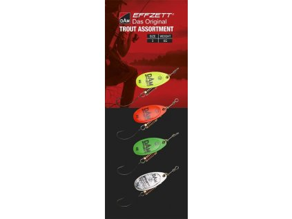 ASSORTMENT SPINNER SINKING TROUT