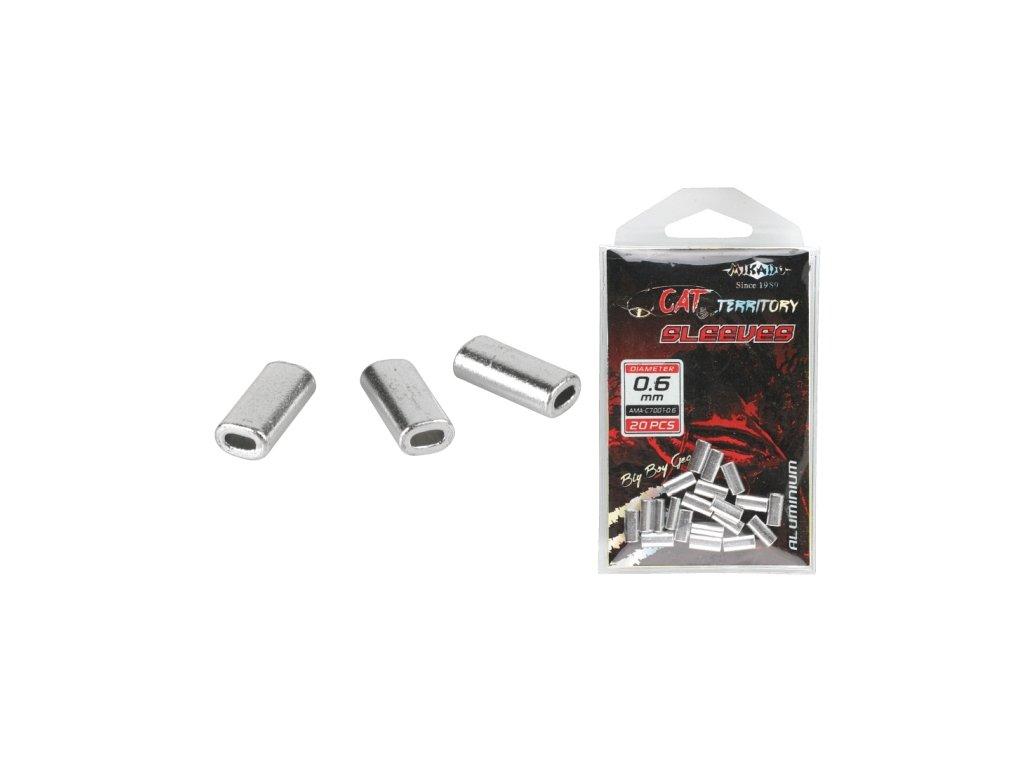ALU Zamačkávací trubičky 1.2mm 20 ks