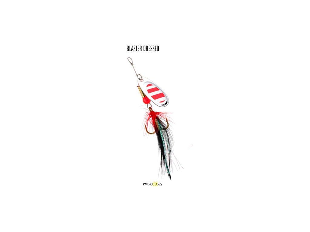 Třpytka - BLASTER s chvostem 3 g SILVER / 22H