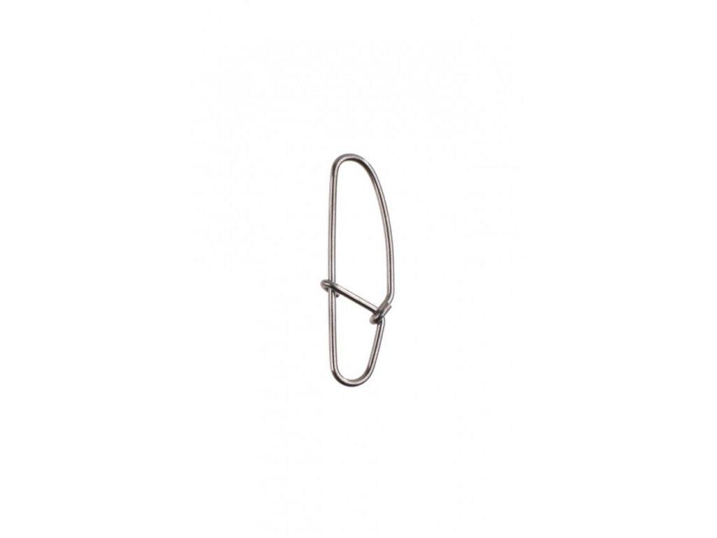 Karabina - HOOKED BN - vel 6  Nosnost 70 kg - 10ks