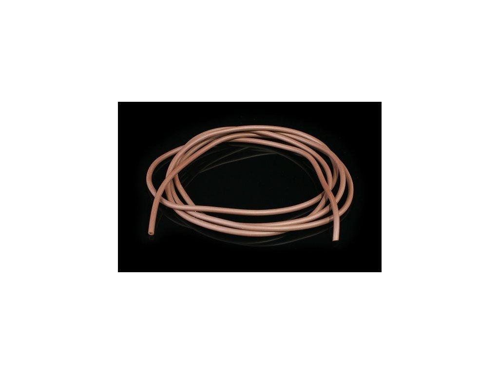 Tungstenová hadička 0.6 x 1.85 mm / 1 m / hnědá