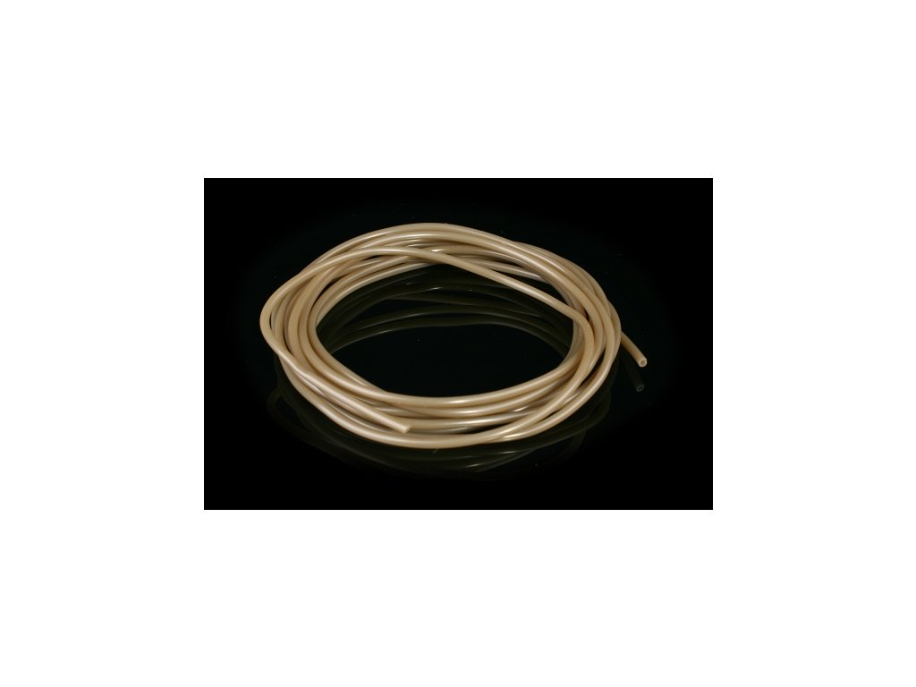 SINKING ANTI-TANGLE TUBE 1.0 x 2.0 mm / 2 m / BROWN