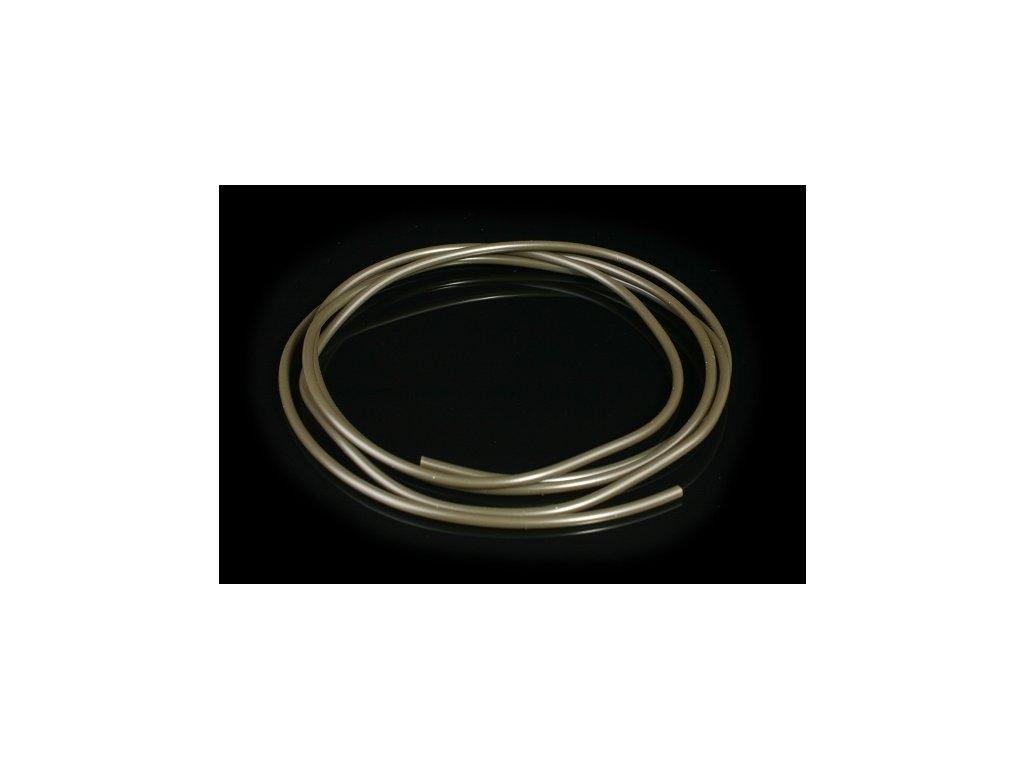 PVC TUBE 1.0 x 2.1 mm / 1 m / GRAY-GREEN