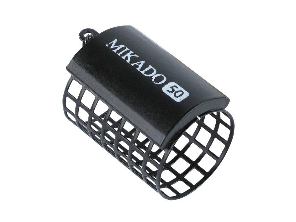Kulaté feederové krmítko (32x44) 30g - Černé - 10 ks