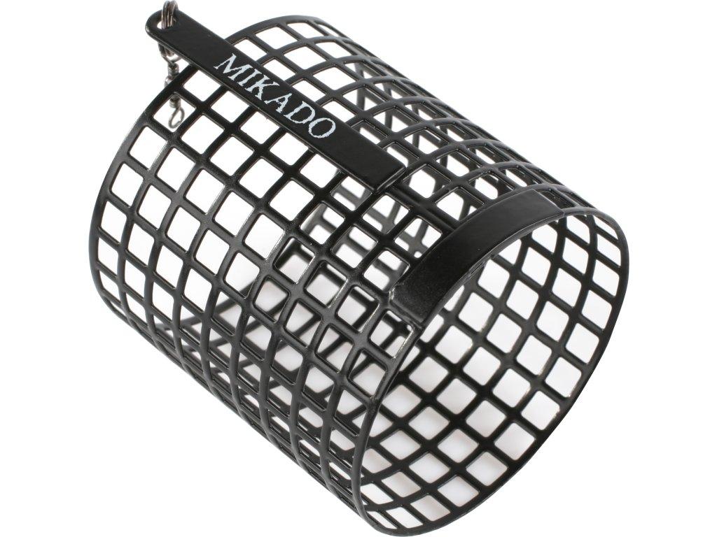 Kulaté feederové krmítko zakrmovací XL 20 g (50x57) - 10 ks - černé