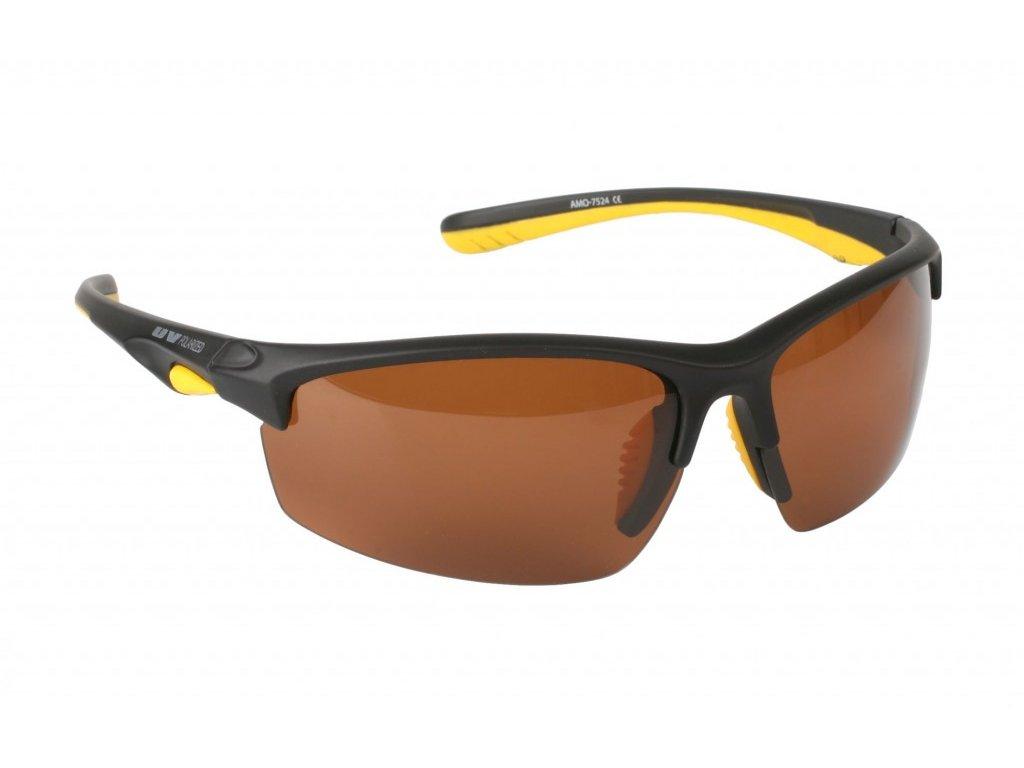 Polarizační brýle - 7524 BROWN (hnědá skla)