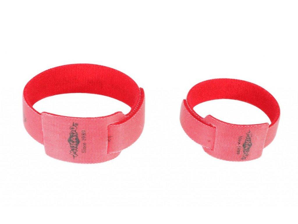 Pásek na  udici - ROD BINDER 275 x 30 x 19 mm – 10ks - suchý zip