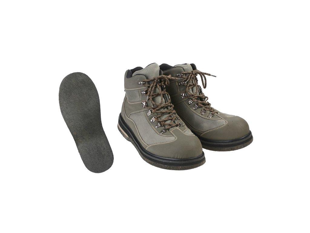 Brodící boty s filcovou podrážkou - vel. 46
