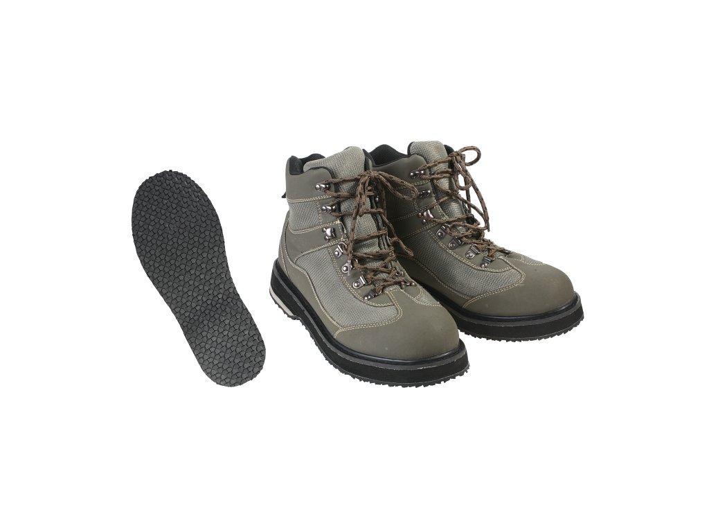 Brodící boty s gumovou podrážkou - vel. 44