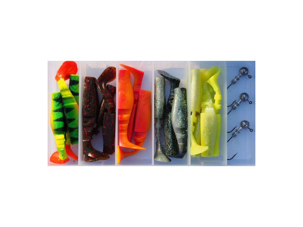 SET - Fishunter 7cm - 15ks / jig 3ks