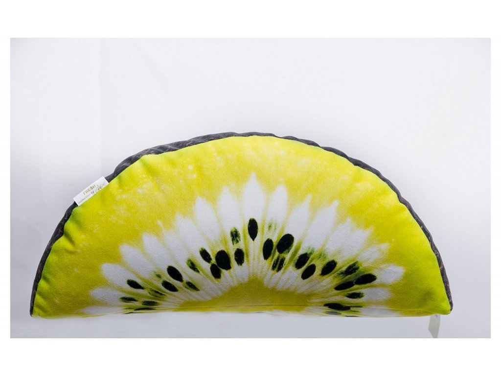 Kiwi - čtvrtka 37x17 cm polštářek
