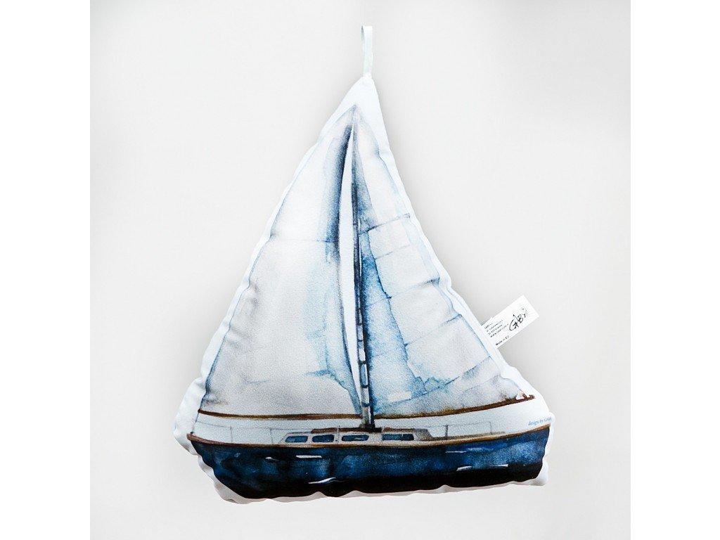 Plachetnice - 31 cm polštářek