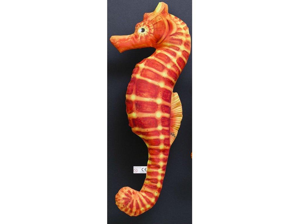 Mořský koník Červený  - 60 cm polštářek